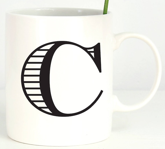 Personalized Initial Mug ~ Choose your Letter