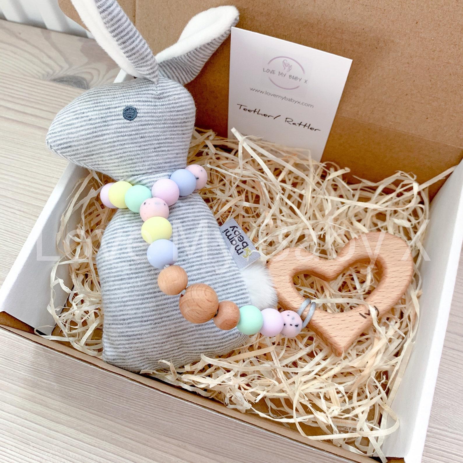 Personalised Cute Bunny Teether