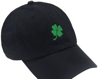 131604c8b5d NEW 4 leaf clover Dad Hats Caps Embroidered Style Vintage St. Patrick s Day  Four