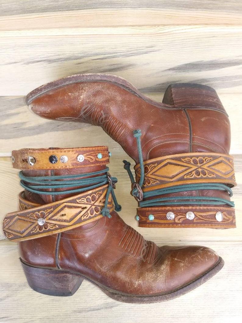 7de5179e150 Women's sz. 8.5 J. Chisholm Cowboy Boots