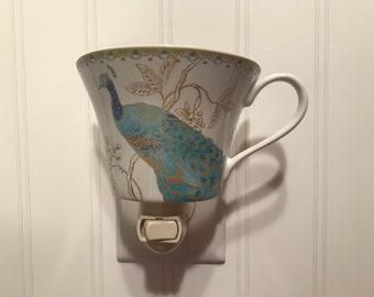 Peacock nightlight cup #20