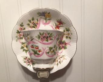 Royal Albert Our Emblems Dear cup and saucer #36