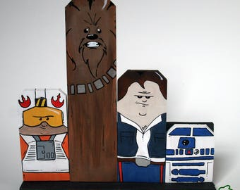 Star Wars Inspired Magnetic Characters - Home Decor