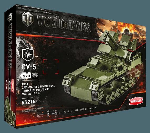 Artillerie russe SU-5 | Dans le monde des citernes | modèle kit | 65216 | zormaer