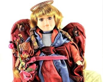 Collector's Choice Christmas Angel Porcelain Doll