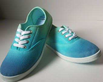 Tie Dye Shoes Size 8