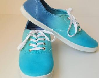 Tie Dye Shoes Size 9