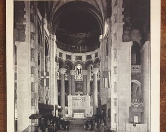 Cathedral of St. John the Divine, New York City - Antique Postcards - uninscribed