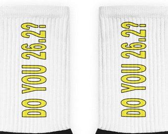 Do You 26.2? Socks