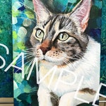 Custom Acrylic Pet / Animal Portrait -