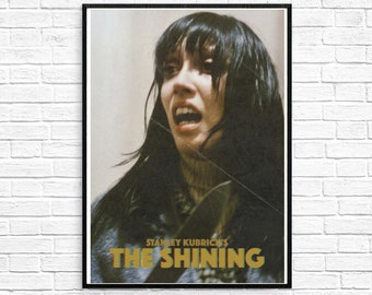 save off d84b3 4e80b THE SHINING 1980 Stanley Kubrick Horror Shelley Duvall Wendy Original  Vintage Poster Classic Movie Film Retro Print Stephen King Halloween