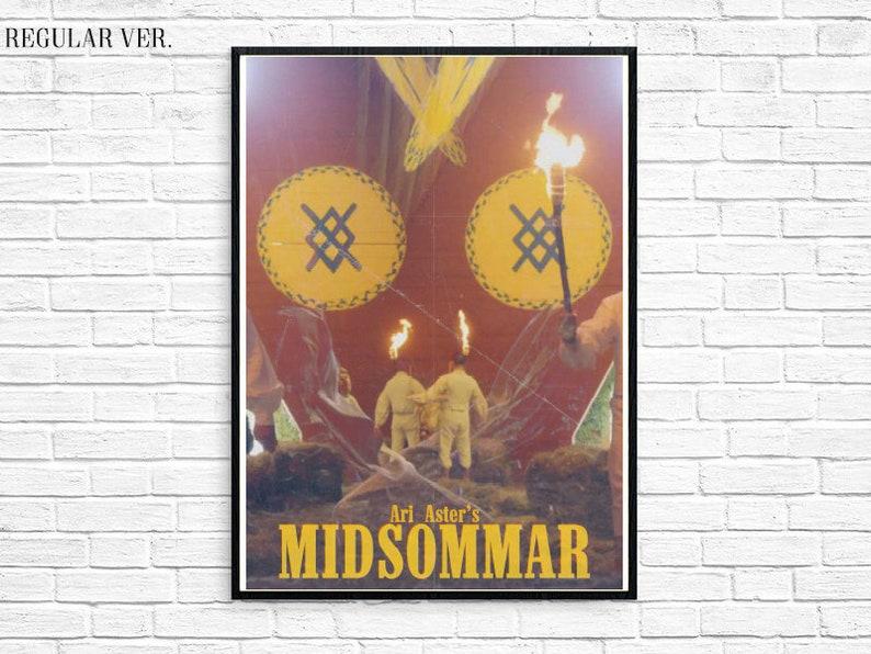 Midsommar 2019 Ari Aster Horror Vintage Movie Retro Film Etsy