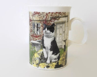 Miniature Coffee Cup ~ Caroline ~ Dollhouse ~ Charm ~ Stocking Stuffer ~ Crafts
