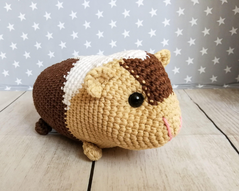 PDF Baby Guinea Pigs four amigurumi guinea pig CROCHET | Etsy | 2394x3000