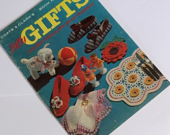 Coats and Clark Making Gifts Book Vintage Handy Crafts