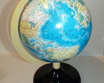 Vintage World Globe made in Taiwan