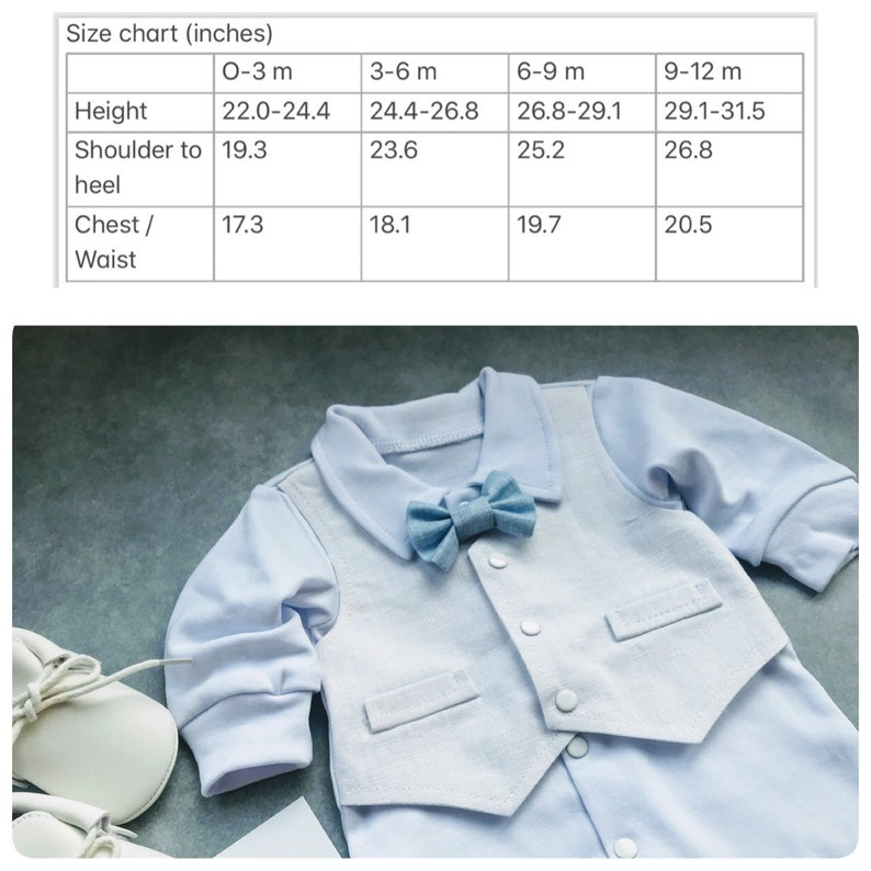 Baby boy blessing outfit baby boy baptism outfit baby boy christening outfit newborn boy coming home outfit summer