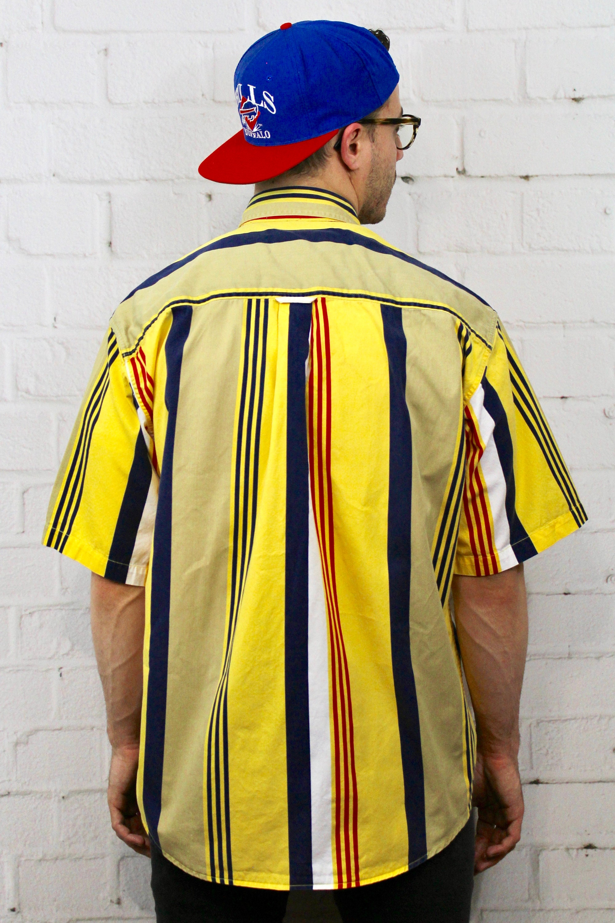 237f7daf1f44 Basic Editions Vintage Vertical Stripe Shirt