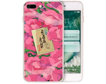 f6f3fb799d4 Coque Spirited Away Roses Clear TPU Silicone Phone Cases for iPhone XS Max  Xr 8 7 6 6S Plus SE 5S 5 Cover for iPod Touch 6 5 Case.
