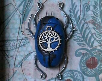 Dark Woodland Nymph Scarab