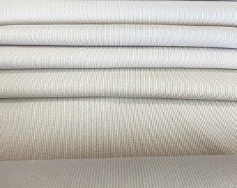 Family Fabrics Rib Knit Organic Fabric, Hushed Violet, European Fabric, OEKO-TEX Certified