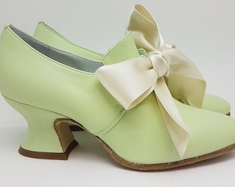 Paoul Mary 18th century ivory nappa leather woman shoes style 742/_25T
