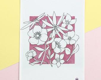 Flowers - Fine Art Print