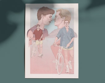 Call Me By Your Name Fanart - Print