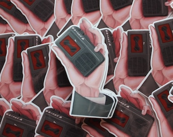 Twin Peaks Hand Illustration | Sticker