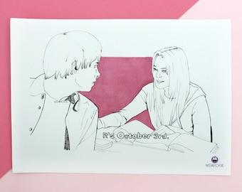 Mean Girls - It's October 3rd (Art Print)