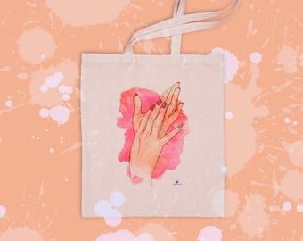 Illustration Hands | Tote bag