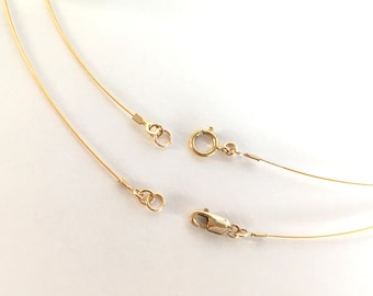 18K Gold Earring Wires 20.00 mm X 10.00 mm PAIR Fine Jewelry Making Findings