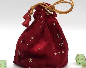 A Pinch of Magic - Small Bag For Dice, Crystals, or Jewelry