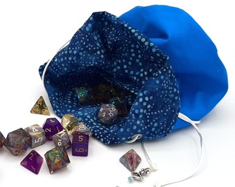 The Fathoms - Medium Bag With Pockets For Dice, Crystals, or jewelry