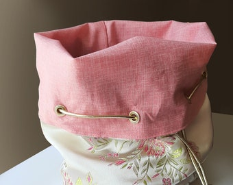 The Sakura - Large Bag With Pockets For Dice, Crystals, or jewelry