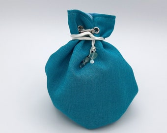 The Shallows - Medium Bag With Pockets For Dice, Crystals, or jewelry
