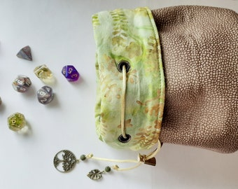 The World Tree - Medium Bag With Pockets For Dice, Crystals, or Jewelry