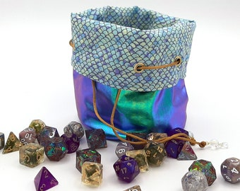 The Siren - Medium Bag With Pockets For Dice, Crystals, or jewelry