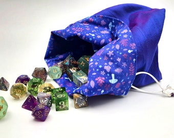 Amethyst Grove - Medium Bag For Dice, Crystals, or Jewelry