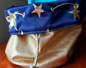 The Magician - Large Bag With Pockets For Dice, Crystals, or jewelry