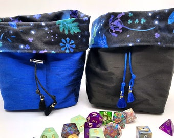 Midnight Grove - Medium Bag For Dice, Crystals, or Jewelry