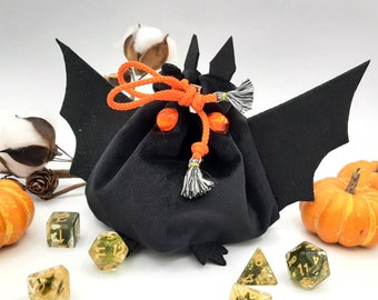 Going Batty - Small Bag For Dice, Crystals, or Jewelry