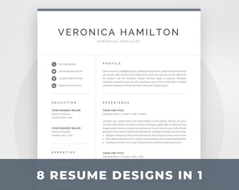 Resume Template Mac