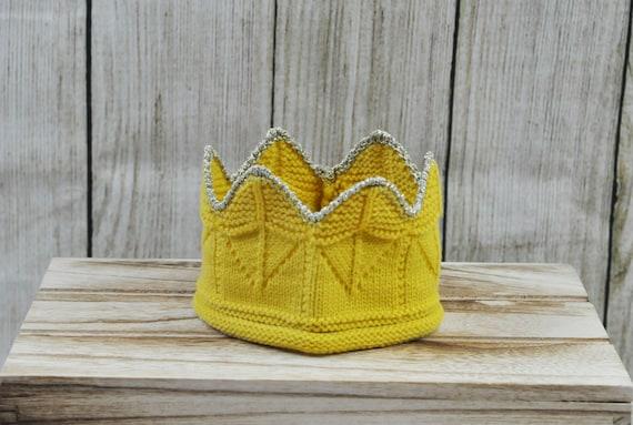 CROWN HAT Baby Knit Hat