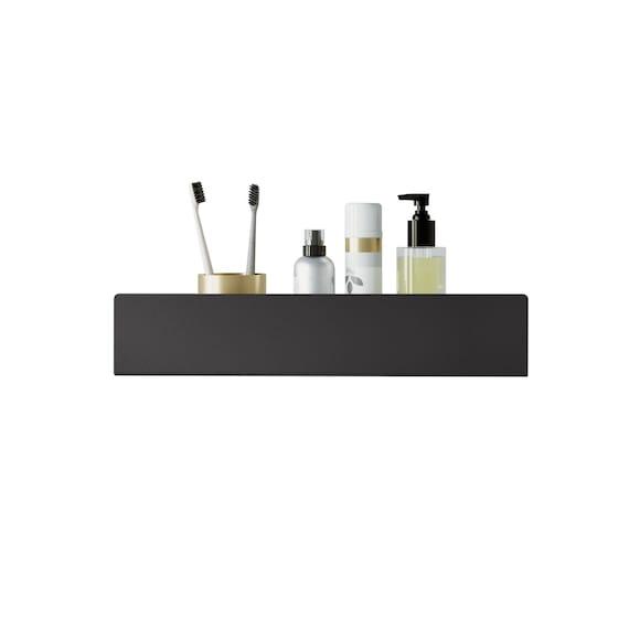 Modern Farmhouse Black Shower Shelf Docia Bathroom Etsy
