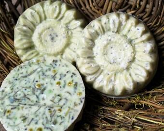 Handmade Gardener's Soap - Herbal Blend - Sunflower