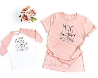 Mom Daughter Shirts Etsy