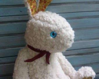 Teddy Bunny OOAK teddy artist toy TO ORDER