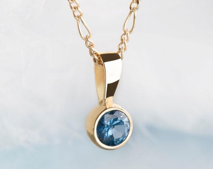 Aquamarine necklace, Aquamarine pendant, aquamarine earrings, aquamarine jewelry set, something blue for the bride, dainty necklace
