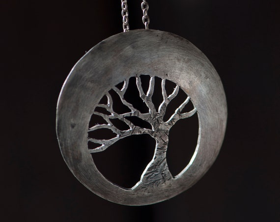 Boho Tree of Life Pendant Necklace, Game of Thrones gift